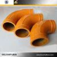DN125 3000 mm Concrete Pump Pipe Elbow Manufacturer