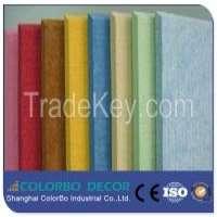 Decoration Furniture Recycling PET Polyester Fiber Acoustic Panels Manufacturer