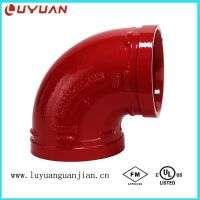 FM UL CE Grooved Pipe Coupling Fire Fighting Sprinkler System Manufacturer