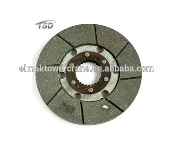 Hoisting Brake Disc 28 teeth Tower crane parts