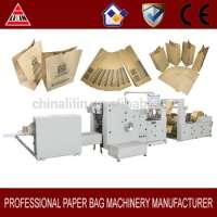 LSB-190 roll feeding square bottom paper bag making machine