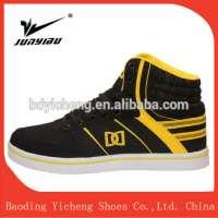 cricket sport shoes microfiber flat sole man casual sport shoe in Baoding Manufacturer
