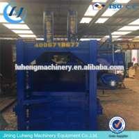 vertical palm coir fibre baling machine