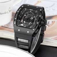 SKONE Men Watches Hollow Silicone Clock Male 30m Waterproof Casual Sport Watch Men Wrist Quartz sport Watch Man