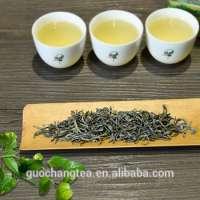 Green Ecological loose tea leaves