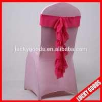 fuschia chiffon chair sash Manufacturer