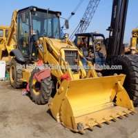 Used backhoe loader heavy construction equipment