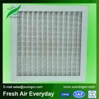 Hvac air filter system
