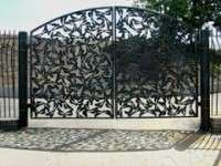 Good quality laser cut fence  Stainless Steel Gate