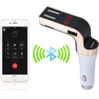 LUTU 590 Car Cigarette lighter mp2 mp3 mp4 12V 24V with fm modulater micro usb sd oort mmc flash player 3.5mm FM Transmitter For iPhone Manufacturer