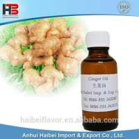 ginger extract terpenes essential oil for massage