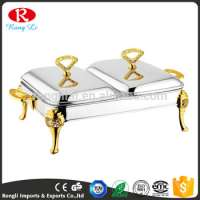 Party resturant stainless steel serving chafing buffet dishes  Manufacturer