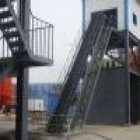 Inclined belt conveyor  Manufacturer