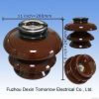 high voltage porcelain P33Y pin insulator Manufacturer