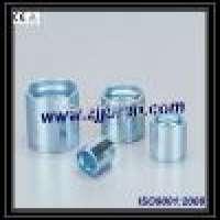 Carbon Steel Zinc plating 00710 Ferrule Teflon hose by CNC machine Manufacturer