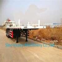 3 AXLE FLAT BED CONTAINER TRAILER EthiopiaDjiboutiKenya Manufacturer