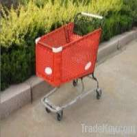180L Plastic Shopping Trolley Manufacturer
