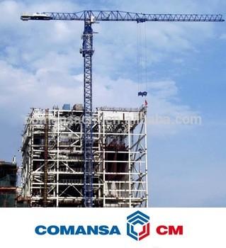 Flat Tower Crane 21CM55025t