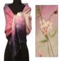 Silk shawl &039cloud garden&039 Manufacturer