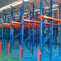 High density warehouse storage drive in pallet racking system Manufacturer