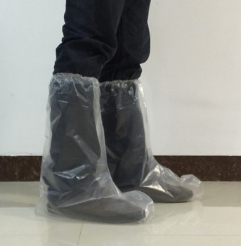 1863fd8cbfabaf PE CPE PP Plastic Disposable Waterproof Shoe boot Covers From Rizhao Lukang  Plastic Product Co.