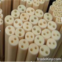 Alumina thermocoulpe protection tube