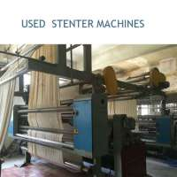 Used Fabric Stenter Heat Setting Finishing machine/popular brands like monforts, il sung, lk available Manufacturer