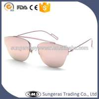 Metal frame pilot mirror aviator glasses Manufacturer