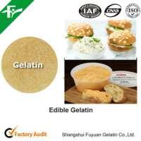 natural gelatin powder cheese spreads