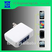 folding multi port usb travel chargers Manufacturer