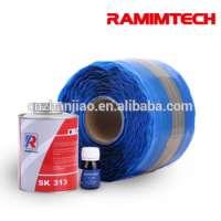 PVC water resistant black cold bond vulcanizing rubber solvent cement Manufacturer