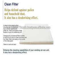 Removes bad odor air condition filter cleaning AIR CONDITIONER COVER CLEAN FILTER in