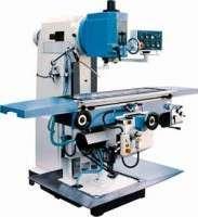 Universal swivel head vertical milling machine Manufacturer