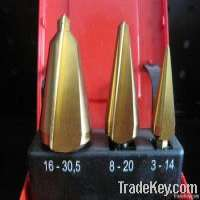 3 Pieces HSS Cone Drill Bit Set Manufacturer