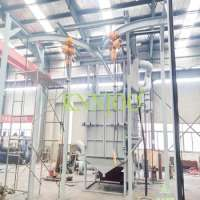 Hanger Conveyor Shot BSand Blasting Machine Manufacturer
