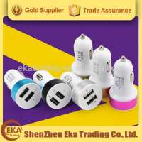 aluminum frame portable dual usb car charger Manufacturer