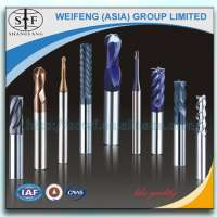 carbide end mills cutters for moldes aluminium Manufacturer