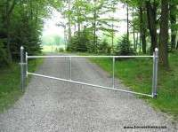 Portable Aluminum Park Gate