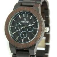 Classical Bamboo Wooden Watch Men Women Wristwatches Leather Quartz Men Dress Manufacturer