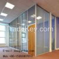 Aluminum Frame Office Glass Partition Glazed partition Manufacturer