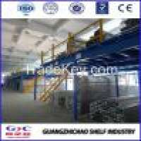 Warehouse Rack Steel Mezzanine Floor Manufacturer