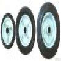 Rubber Caster Wheel Steel Centre Manufacturer