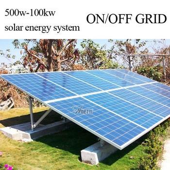 hybrid solar power panel generator