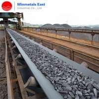 Long distance belt conveyor design for limestone material transportation Manufacturer