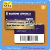customized printing plastic pvc business card
