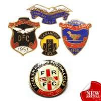 metal football enamel badges