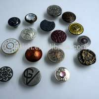 Brass Alloy Plastic Shank Button Jeans Manufacturer