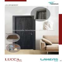 Soft Touch Surfaced PVC Door WPC Waterproof Frame