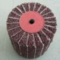 Non woven flap wheels sand paper Manufacturer