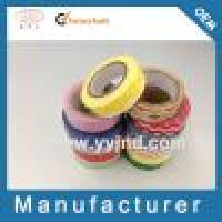 Satin Tape and Rice Paper Washi Tape Manufacturer